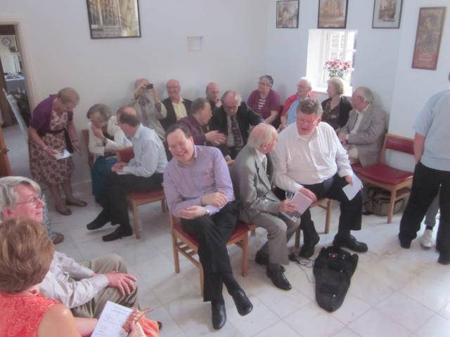 The Opening of The Coffee House Organ, May 2012, with FJ, Alan Spedding etc